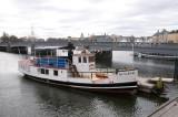 Stockholm excursion boat