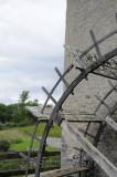 Mill water wheel, village of Kells, County Kilkenny (3206)