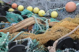 Fish nets and floats in Dingle harbor (3286)