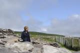 Jill at Dunbeg Fort, Dingle Peninsula (3306)