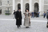 Actors from the filming of the BBC One TV Series Ripper Street (3538)