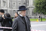 Actors from the filming of the BBC One TV Series Ripper Street (3542)