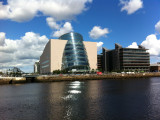 Dublin Convention Center, with the River Liffey in the foreground (i1419)