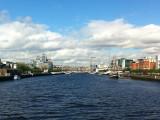 River Liffey from the Beckett Bridge, Dublin (i1422)
