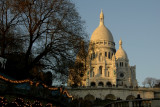 Sacre-Coeur in the late afternoon sun