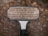 People were dug up out of the Paris cemetaries and put here they were afraid of  plague