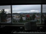 In daylight and with the Yamaha P80