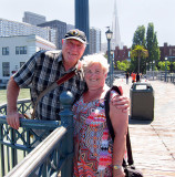 Delightful couple of 49 yrs and 19 visits to SF from Belgium.