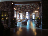 Entrance to Ahwahnee Hotel dining room. #3627