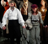 Same photo from loges, w/ crop of Jean Valjean and Eponine. #00469cr
