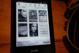 Paperwhite Kindle and display option for book covers. #00963