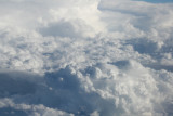 1-Flight to Florida - in the clouds.JPG