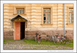 Bicycles and Doorway