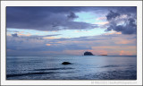 Bass Rock Sunset