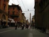 Via Ugo Bassi and Torre Garisenda