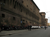 Walls along Via Ugo Bassi