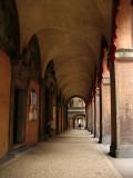 Portico along Via Rizzoli
