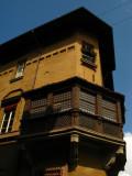 Corner building along Via Massimo d'Azeglio