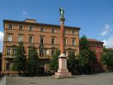 Column on Piazza di San Domenico