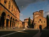 Piazza Santo Stefano and corresponding church