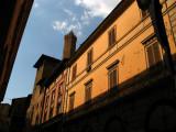Bologna's distinctive red tones