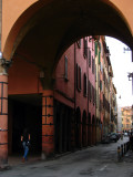 Archway and street