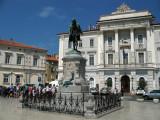 Giuseppe Tartini statue and Town Hall