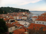 View over Piran from Church of St. George