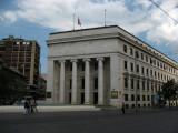 Austere Croatian National Bank building