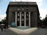 Neo-classicist facade on