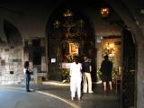 Catholic shrine within the Stone Gate