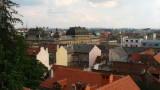 View over central Zagreb