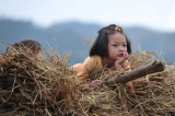 On the way home,Luxi,Yunnan,China