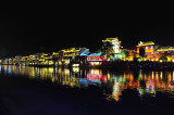 Night at Phoenix old town .China/鳳凰古鎮夜景