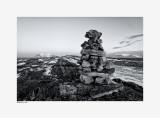 Bellsund - Van Meijenfjord - Akseløya - marking stones