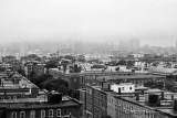 Boston Skyline... Well.. In the fog!