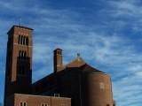 Church & brilliant sky, The Flint