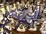 Delft-style windmill souvenirs