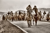 Old West Horse Roundup & Drive