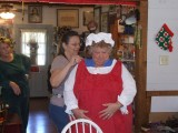 Bachi and Mrs Claus