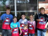 Kids craft day at Lowes