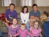 Blake, Blaze, Chloe, Beth, Callie, and Gracie