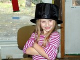 Beth dressing up
