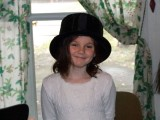 Chloe dressing up