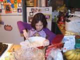 Chloe cooking