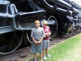 The B's at American Railroad Museum.
