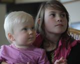 Cousins Mila and Hannah