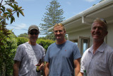 My 3 sons in NZ right now - Wayne, Phil and Allen