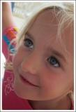 Bright-eyed Charli