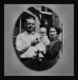 Charley, Elaine and Jessie Dunn 1935